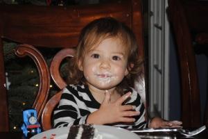 Cake is good.